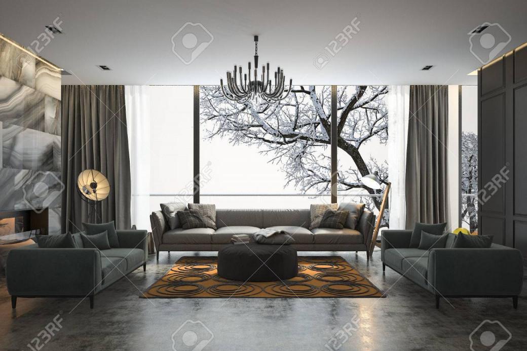Stock Photo von 3D Bilder Wohnzimmer Photo