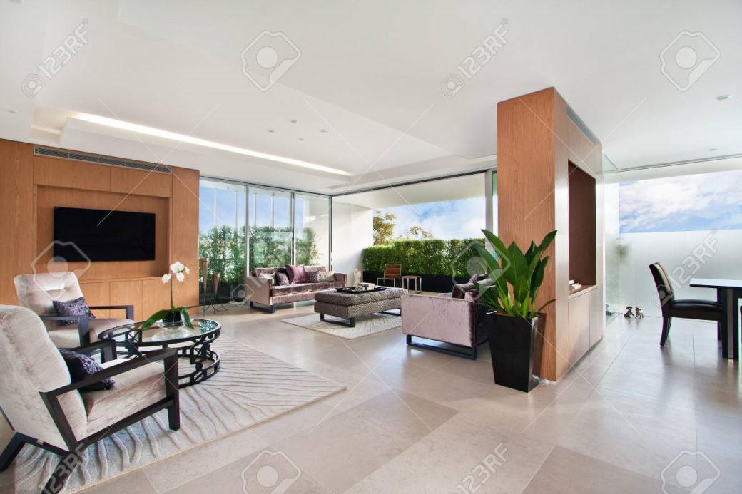 Stock Photo von Große Moderne Bilder Wohnzimmer Bild
