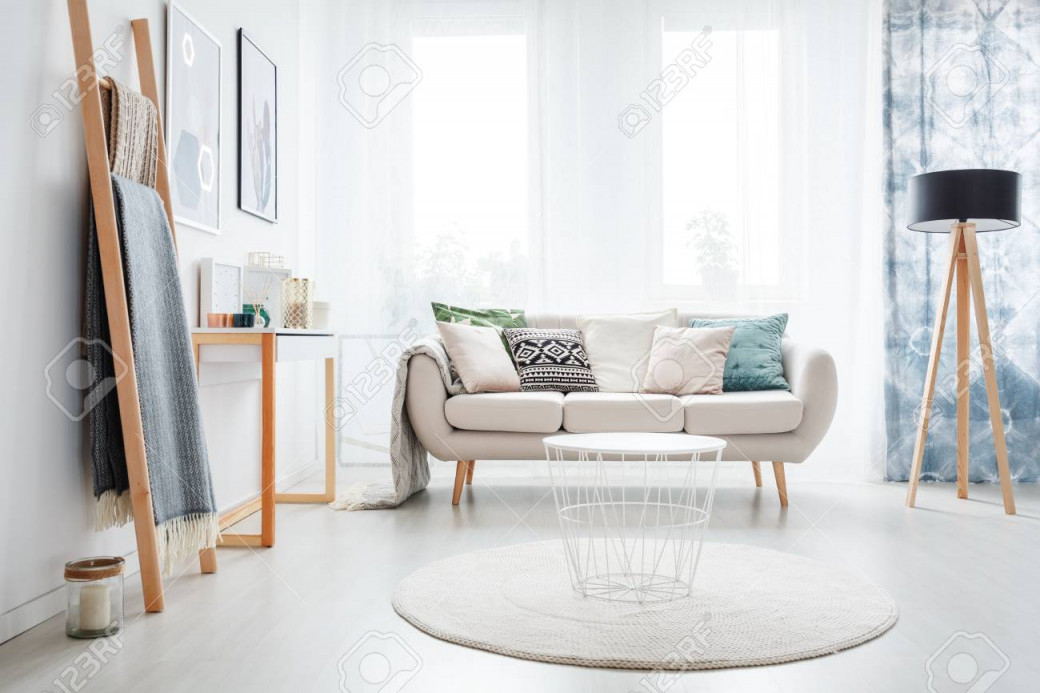 Stock Photo von Helle Wohnzimmer Lampe Bild