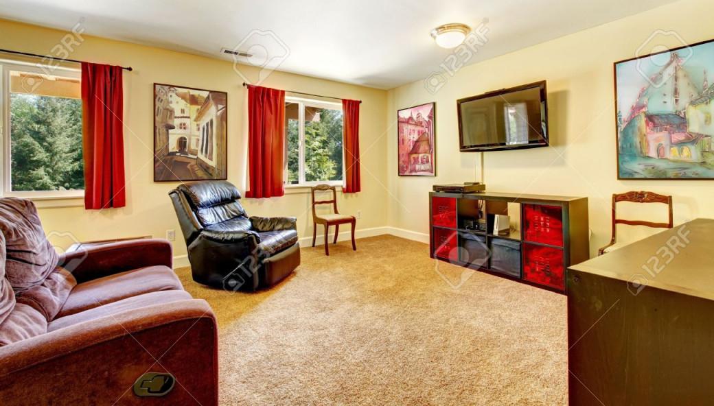 Stock Photo von Kunst Bilder Wohnzimmer Bild