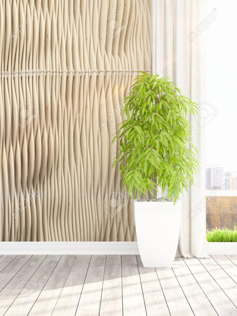 Stock Photo von Moderne Pflanzen Wohnzimmer Photo