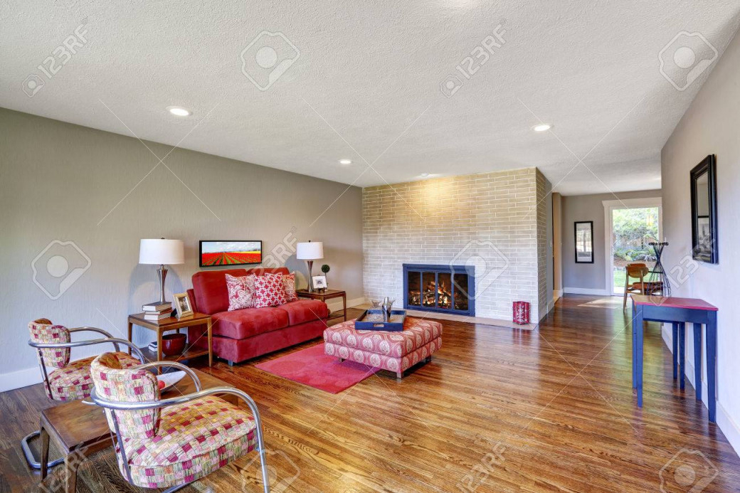 Stock Photo von Roter Teppich Wohnzimmer Photo