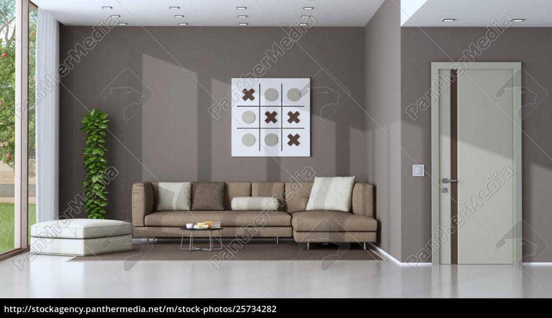 Stockfoto 25734282  Modernes Wohnzimmer von Modernes Wohnzimmer Bilder Bild