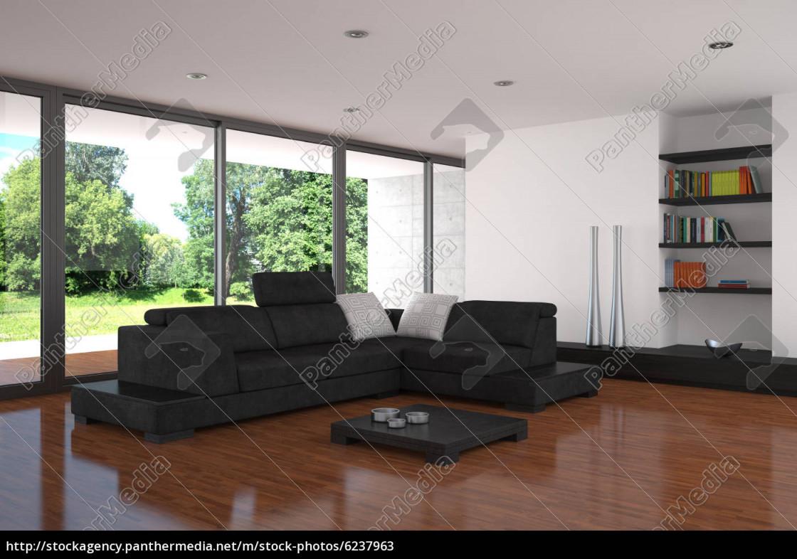 Stockfoto 6237963  Moderne Wohnzimmer Mit von Moderne Bilder Wohnzimmer Bild