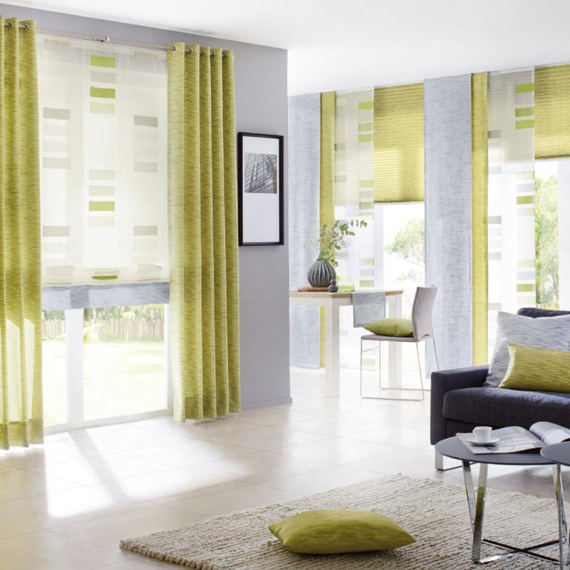 Store Und Dekovorhang Für Ihr Wohnzimmer von Gardinen Stores Wohnzimmer Photo