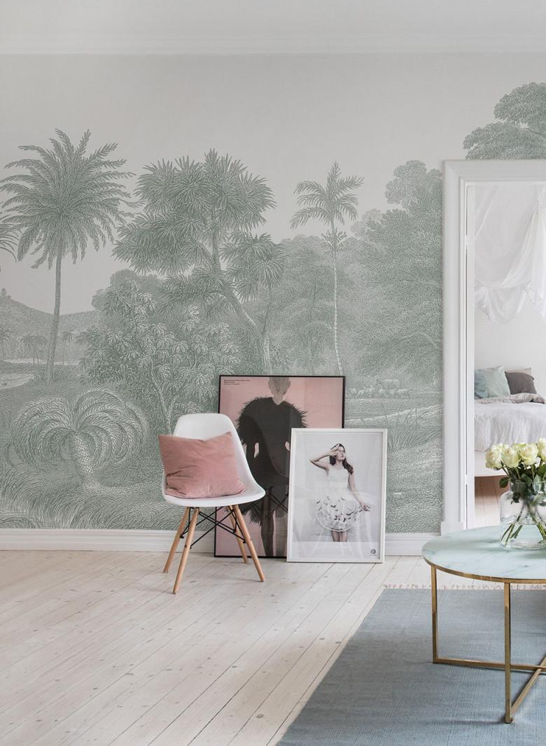 Tapete  Fototapete  Moderne Tapete  Mural Tapete von Tapeten Wohnzimmer Vintage Bild