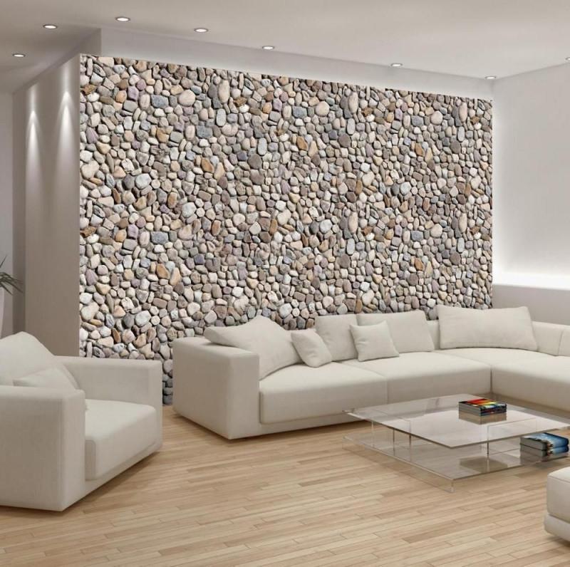 Tapete Fototapete Tapeten 3D Steinoptik Stein Wandbilder von Tapeten Wohnzimmer Steinoptik Bild