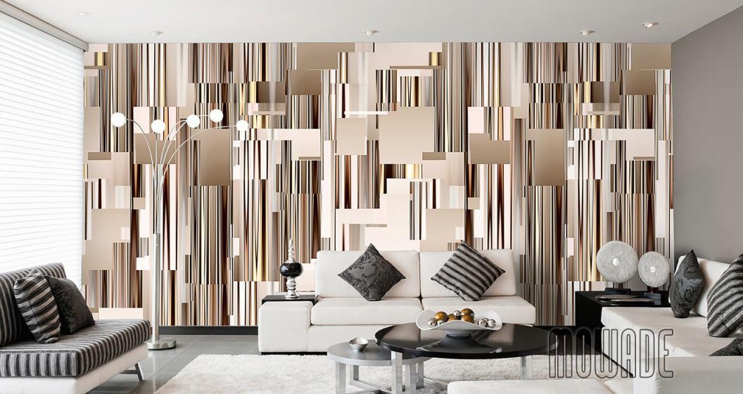 Tapeten Braun – Design Von Mowade® von Tapeten Wohnzimmer Brauntöne Photo