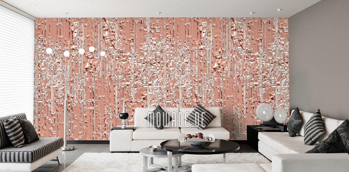 Tapeten Orange – Design Von Mowade® von Ausgefallene Tapeten Wohnzimmer Photo