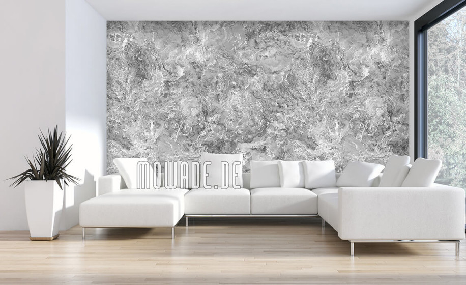 Tapeten Silber Grau Schwarzweiß von Schöne Tapeten Für Das Wohnzimmer Bild