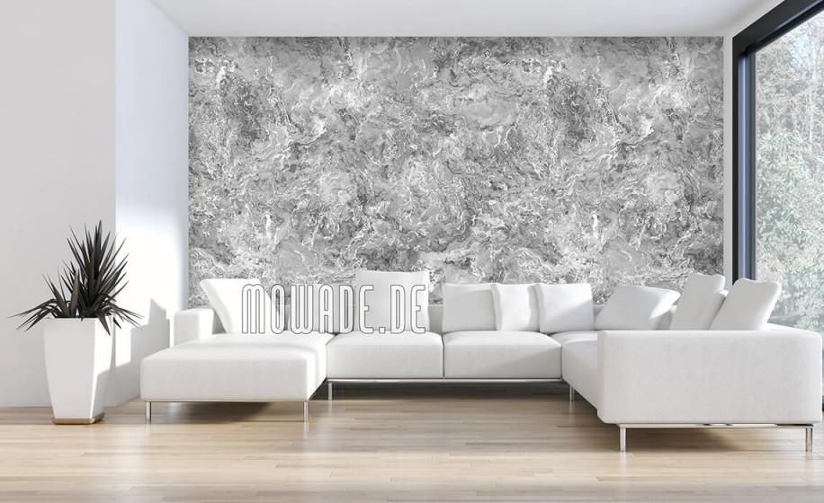 Tapeten Silber Grau Schwarzweiß von Schöne Wohnzimmer Tapeten Photo