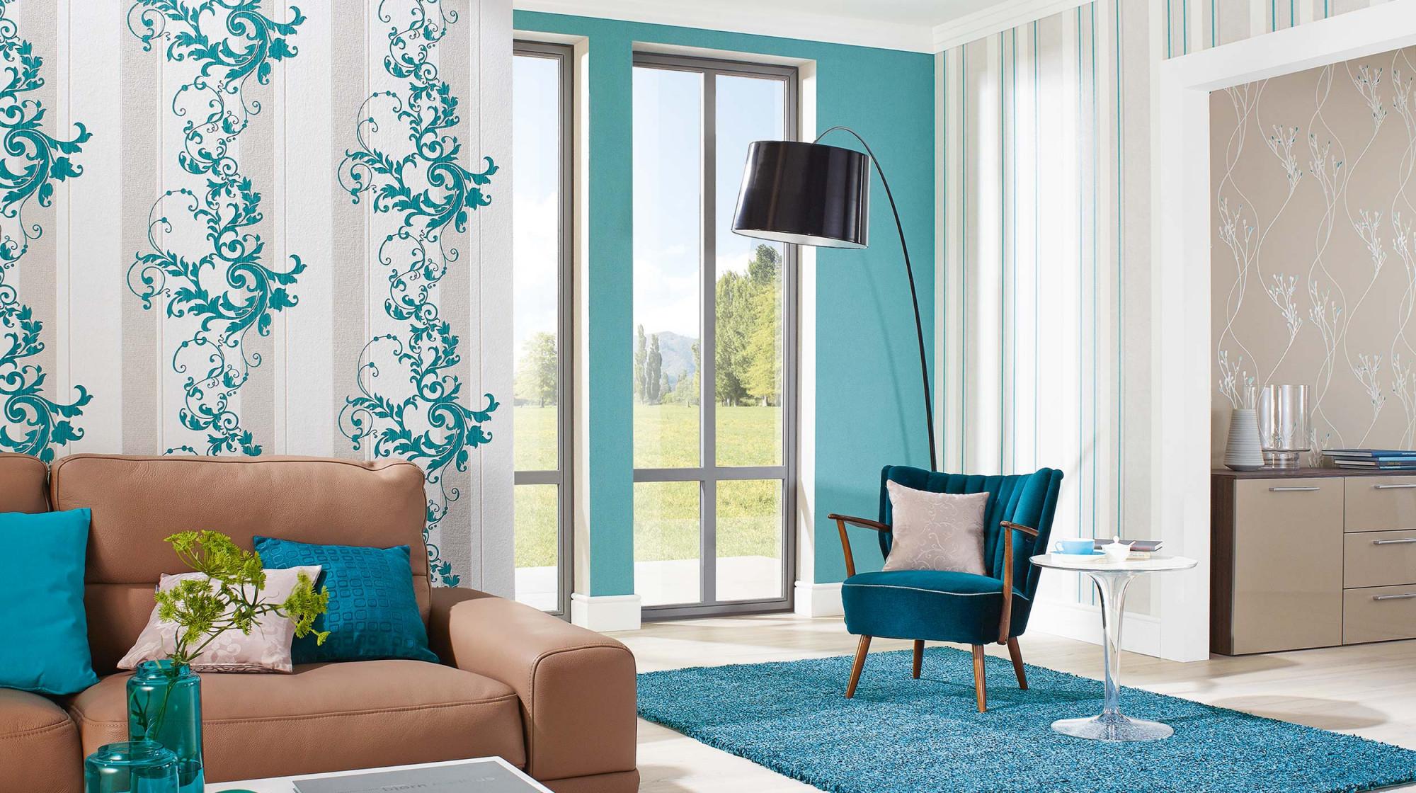 Tapetenmodernkollektionmyself (2)  Erismann  Cie Gmbh von Wohnzimmer Tapeten Modern Photo