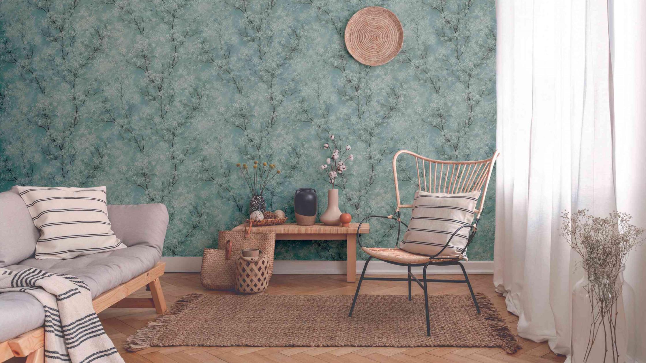 Tapetentrends 2020 So Sehen Die Tapeten Der Zukunft Aus von Tapeten Trends Wohnzimmer Photo