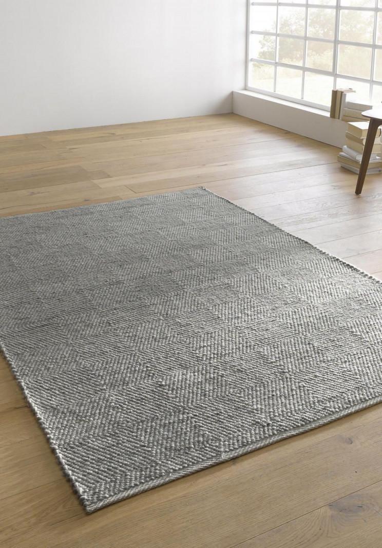 Teppich Ruga Aus Reiner Schurwolle Von Hessnatur  Teppich von Teppich Wohnzimmer Wolle Bild