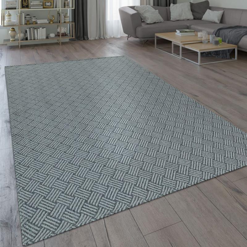 Teppich Webmuster Robust Grau von Teppich Grau Wohnzimmer Photo
