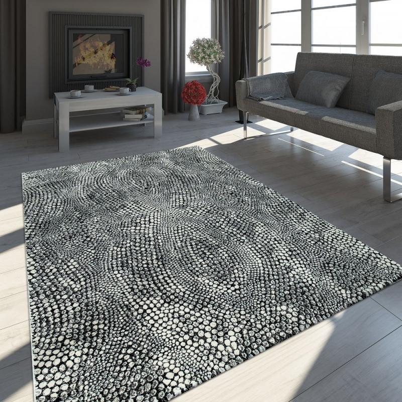 Teppich Wohnzimmer Modern Steinoptik  Wohnzimmer Modern von Teppich Wohnzimmer Modern Bild