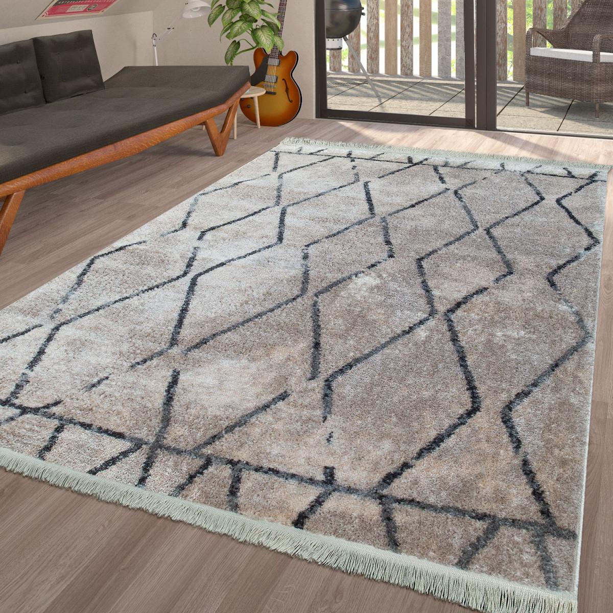 Teppich Wohnzimmer Skandinavisch Karo In Verschiedenen von Teppich Wohnzimmer Skandinavisch Bild