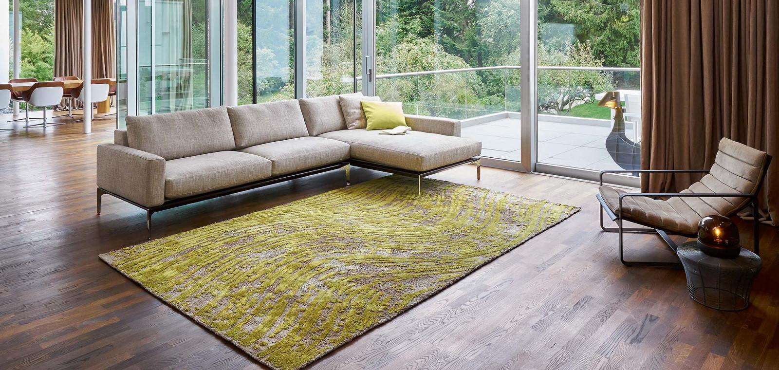 Teppiche Des Partenheimer Deco House von Grüner Teppich Wohnzimmer Bild