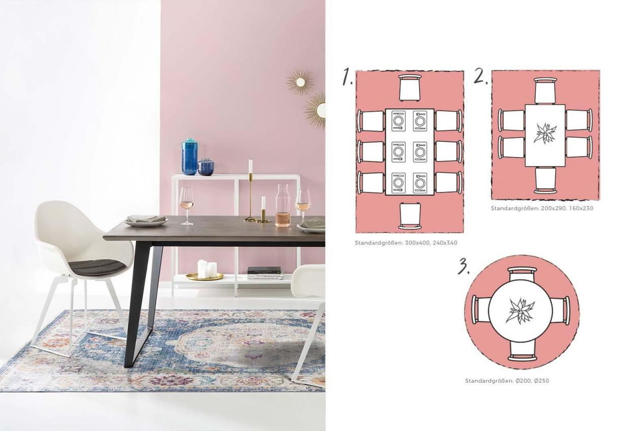 Teppichgröße Bestimmen  Teppich Richtig Platzieren von Teppich Wohnzimmer Größe Bild
