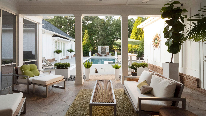Terrasse Gestalten 7 Ideen Für Dein Outdoorwohnzimmer von Wohnzimmer Mit Pflanzen Gestalten Bild