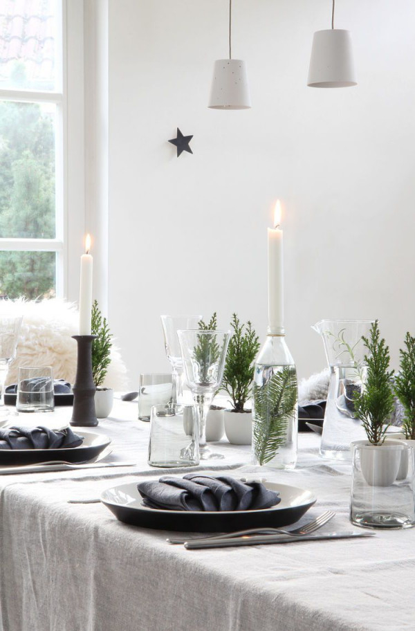 Tischdekoration  Die Schönsten Tischdeko Ideen von Deko Tisch Wohnzimmer Bild