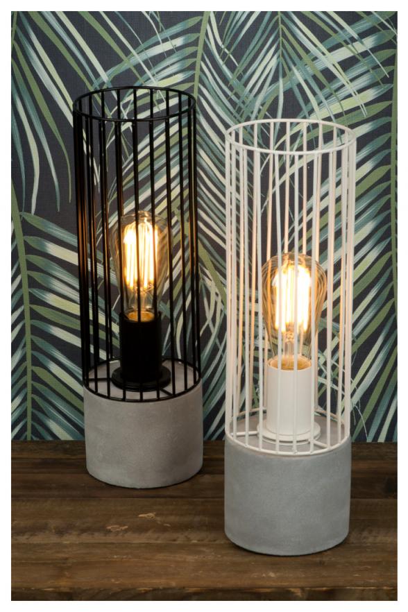 Tischleuchte Memphis  Tischlampen Tischleuchte Weiße von Moderne Tischlampen Wohnzimmer Bild