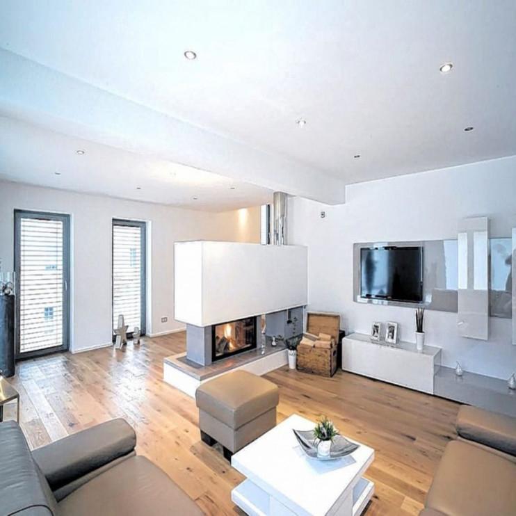 Tolles Moderne Dekoration  Wohnzimmer Grundriss Ideen von Moderne Wohnzimmer Ideen Bild
