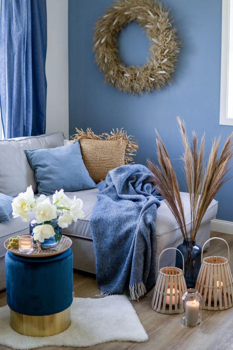 Trendfarbe 2020 Wohnzimmerdeko In Classic Blue Depot 💚 In von Blaue Deko Wohnzimmer Bild