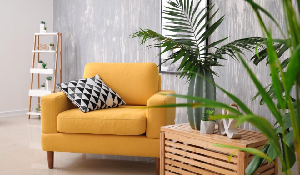 Trendfarbe Senfgelb Zeitlose Einrichtung Und Dekoration von Senfgelb Deko Wohnzimmer Bild
