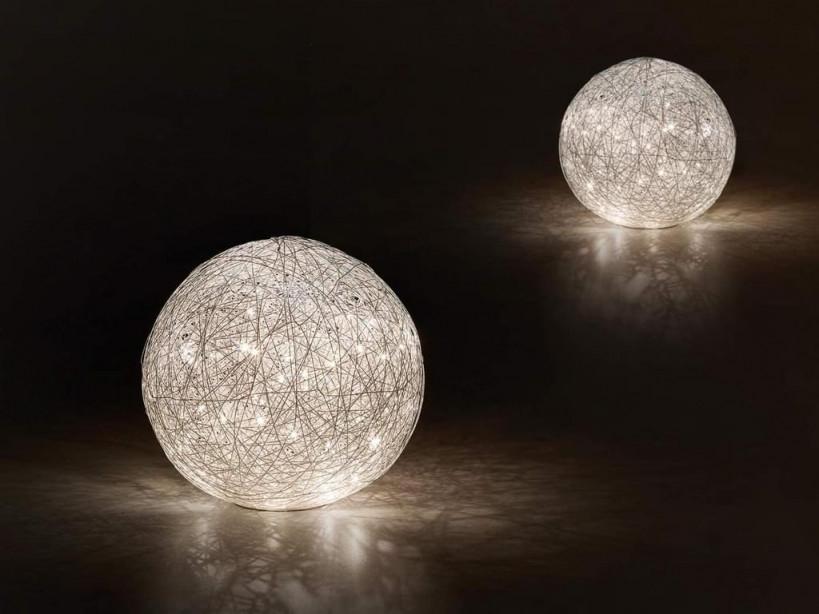 Trio Leuchten Modern Moderne Runde Tischleuchte  Tischlampe  Lampe   Leuchte Chrom Inkl Led  Thunder  Innenbeleuchtung  Wohnzimmerlampe von Moderne Tischlampen Wohnzimmer Bild