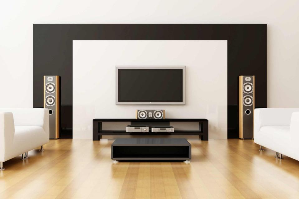 Tvwand Selber Bauen  Anleitung Von Hornbach von Wohnzimmer Fernsehwand Gestalten Bild