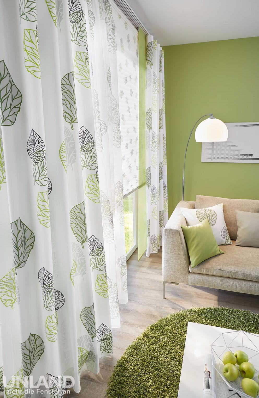 Unland Avikgreenery003  Vorhang Fensterideen Gardinen von Gardinen Wohnzimmer Grün Photo