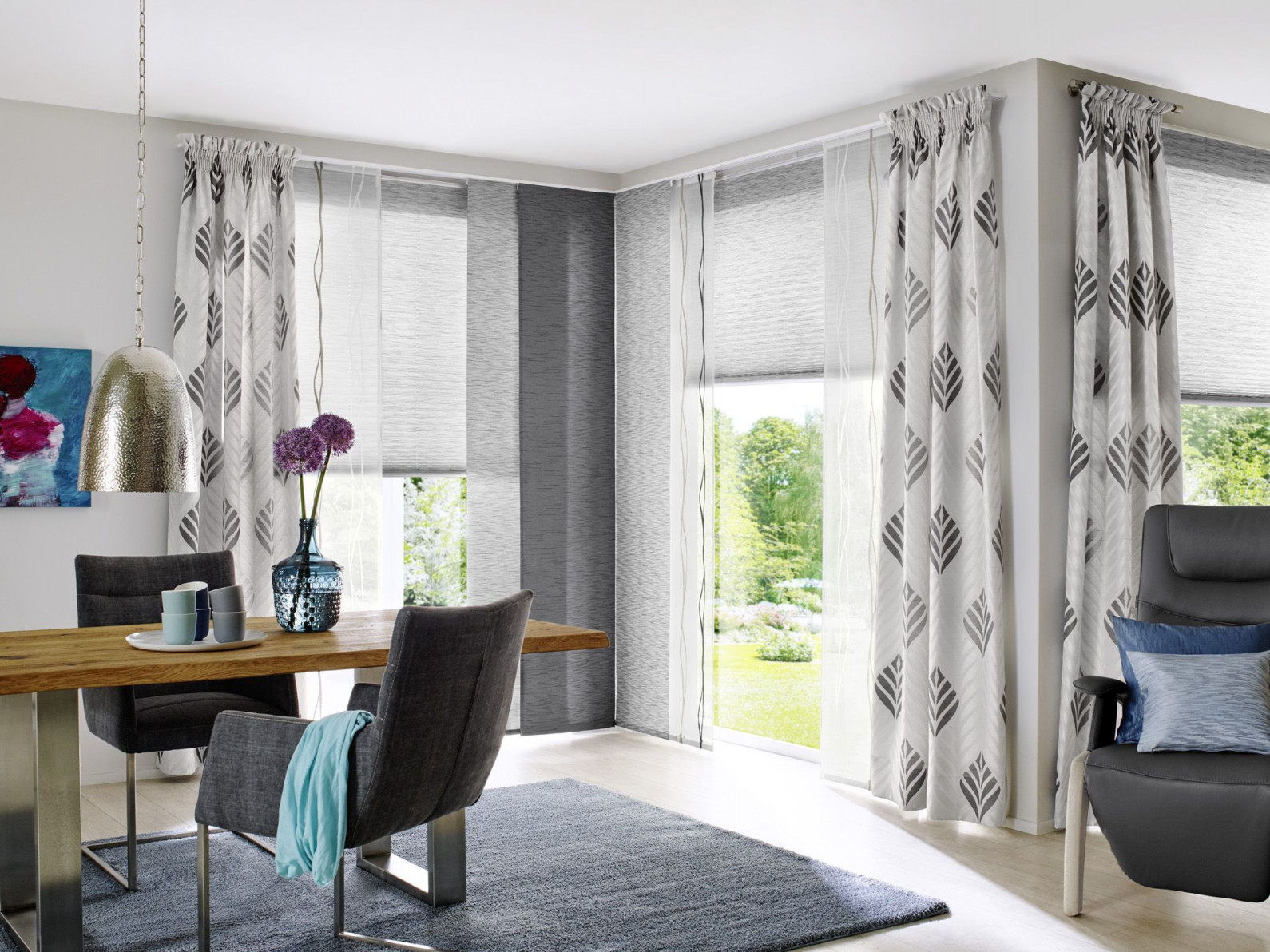 Unland Grace Fensterideen Vorhang Gardinen Und von Luxus Gardinen Für Wohnzimmer Bild