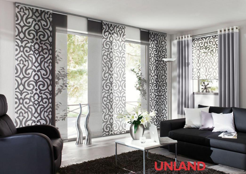 Unland Urbanstyle Fensterideen Vorhang Gardinen Und von Gardinen Wohnzimmer Roller Bild