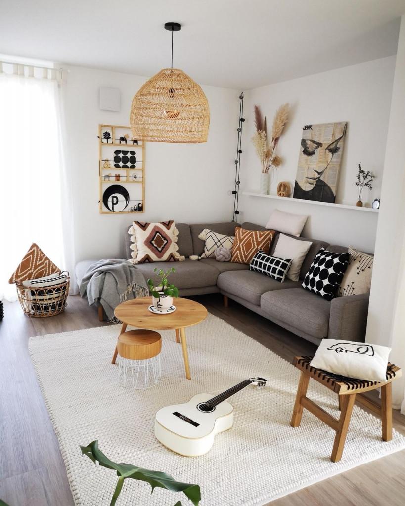 Unser Wohnzimmer Mal Wieder In Einem Etwas Anderen L In von L Wohnzimmer Einrichten Photo