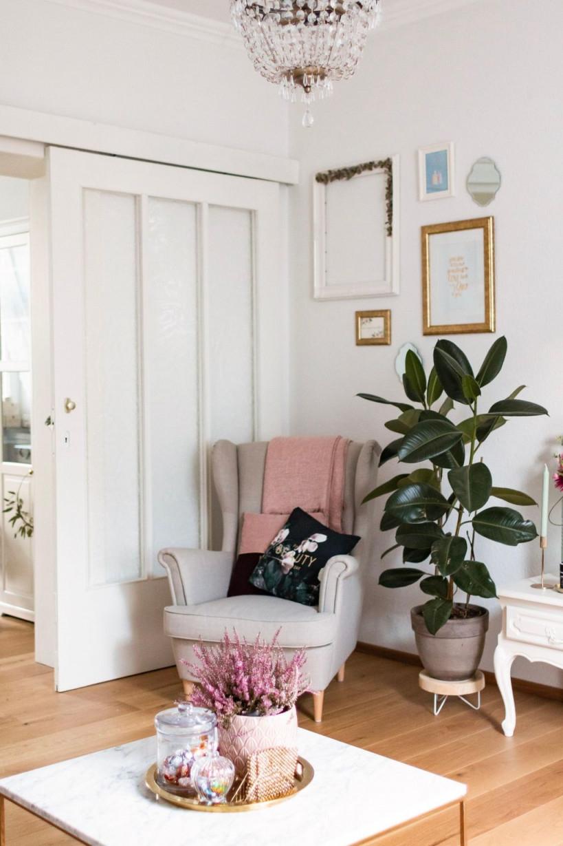Unsere Gemütliche Sitzecke Cozy Gemütlich Wohnzi von Sitzecke Wohnzimmer Ideen Bild