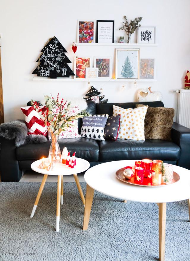Unsere Weihnachtsdeko 2018  Alte Liebe Alles Bleibt Wie Es von Rote Deko Wohnzimmer Photo
