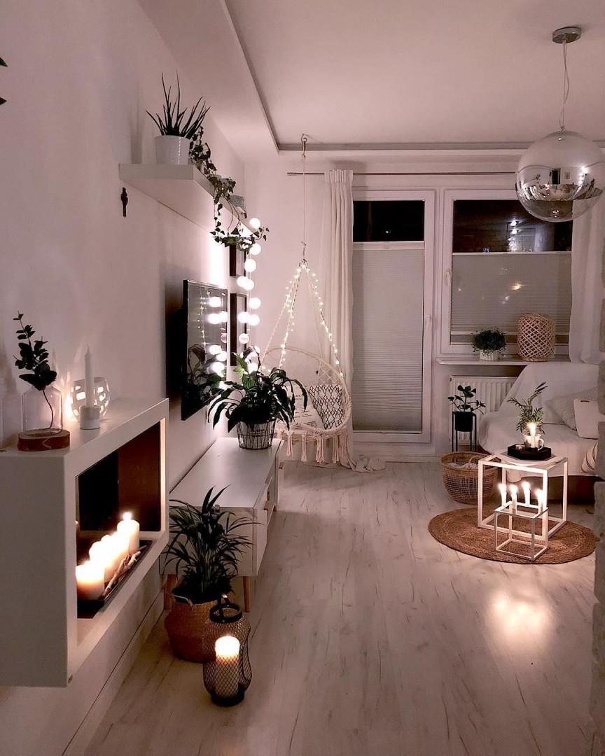 Upgrade Für Dein Zuhause Lichterketten Sehen Nicht Nur von Lichterkette Deko Wohnzimmer Bild