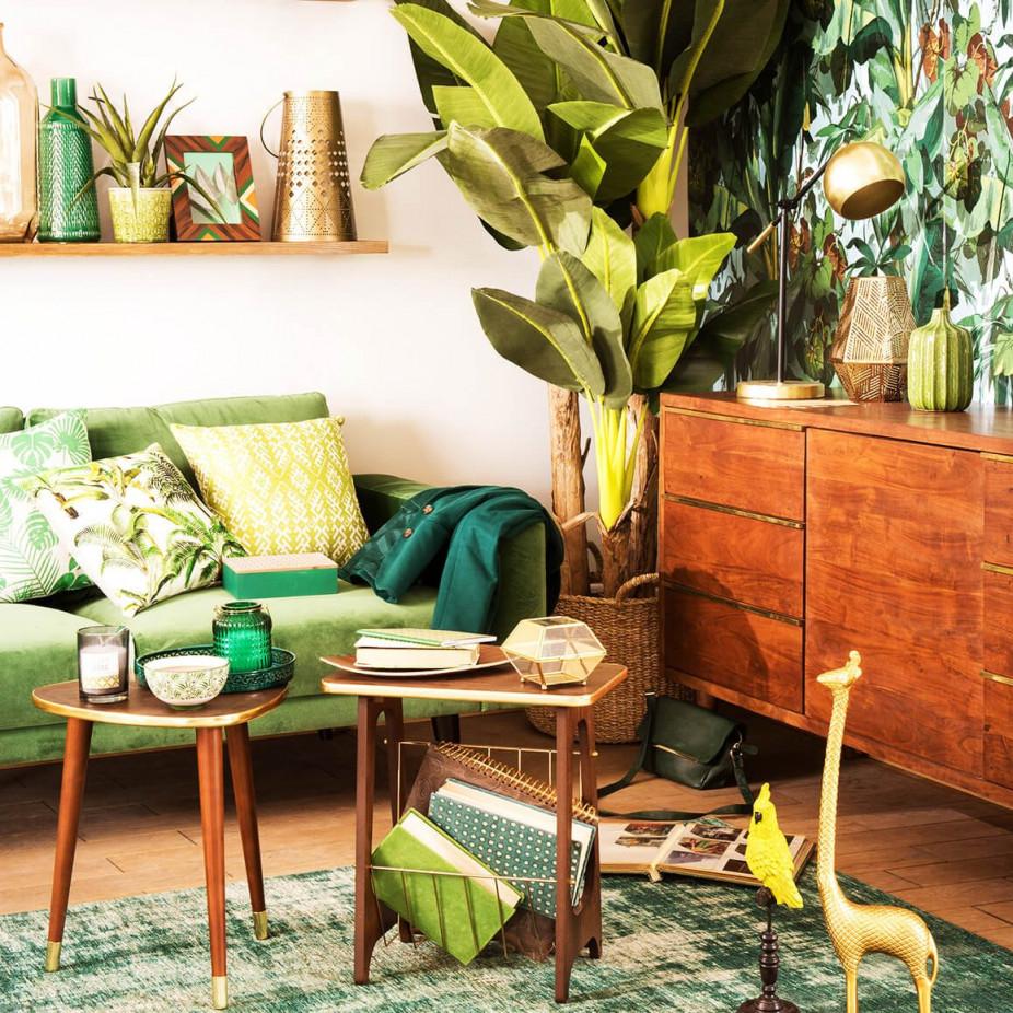 Urban Jungle So Funktioniert Der Wohntrend  Moebel von Dschungel Deko Wohnzimmer Photo