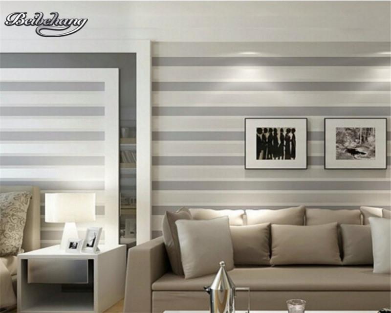 Us $2509 36% Offbeibehang Mittelmeer Stil 3D Wallpaper 3D Vertikale  Streifen Tapete Moderne Wohnzimmer Schlafzimmer Dekorative Tv von Streifen Tapeten Wohnzimmer Photo