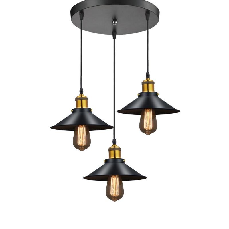 Us $701 39% Offmoderne Led Anhänger Lampe Schwarz Metall Vintage Lichter  Luminaria Wohnzimmer Schlafzimmer Hanglamp Russland Esszimmer Schlafzimmer von Wohnzimmer Lampe Schwarz Photo