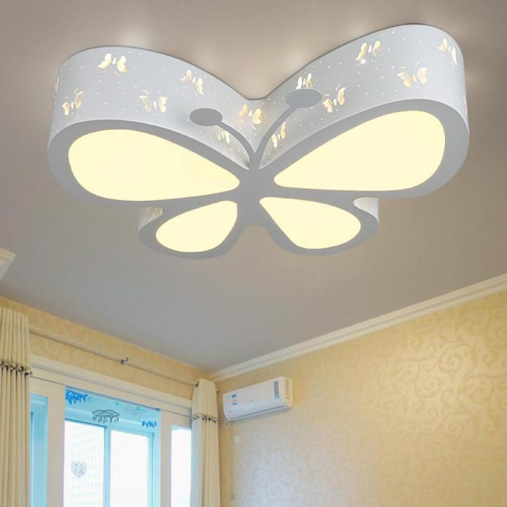 Us $8227 56% Offmoderne High Power Kinder Führte Decke Lichter Led Lampen  Wohnzimmer Schlafzimmer Schmetterling Decke Lampen Led Lustre Licht Decke von Lampe Wohnzimmer Decke Bild