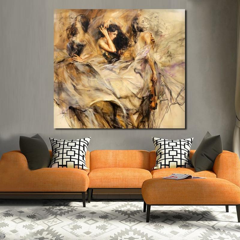 Us $949 50% Offjqhyart Dali Werke Gemälde Für Wohnzimmer Wand Gemälde Auf  Leinwand Öl Malerei Wand Malerei Kein Rahmenpainting For Living von Bilder Gemälde Für Wohnzimmer Photo