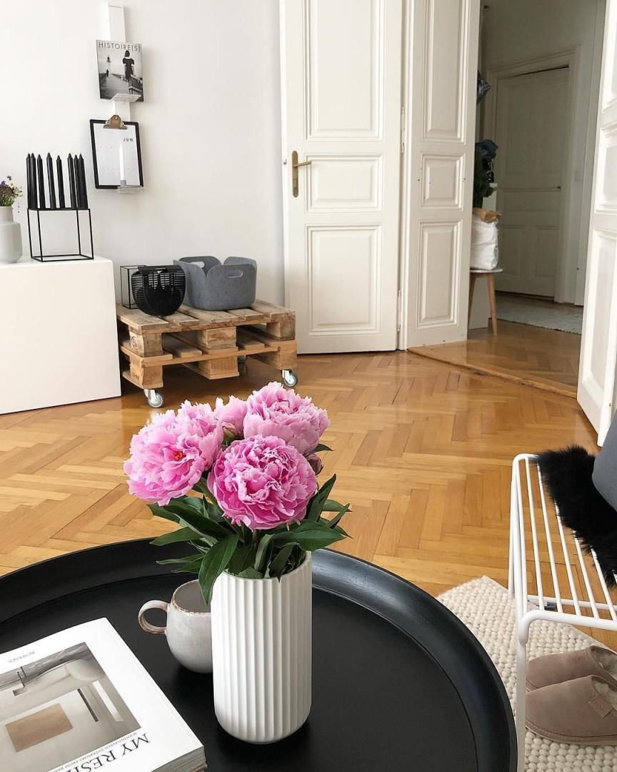 Vase The Lyngby  Dekoration Wohnzimmer Haus Interieurs von Blumen Deko Wohnzimmer Bild