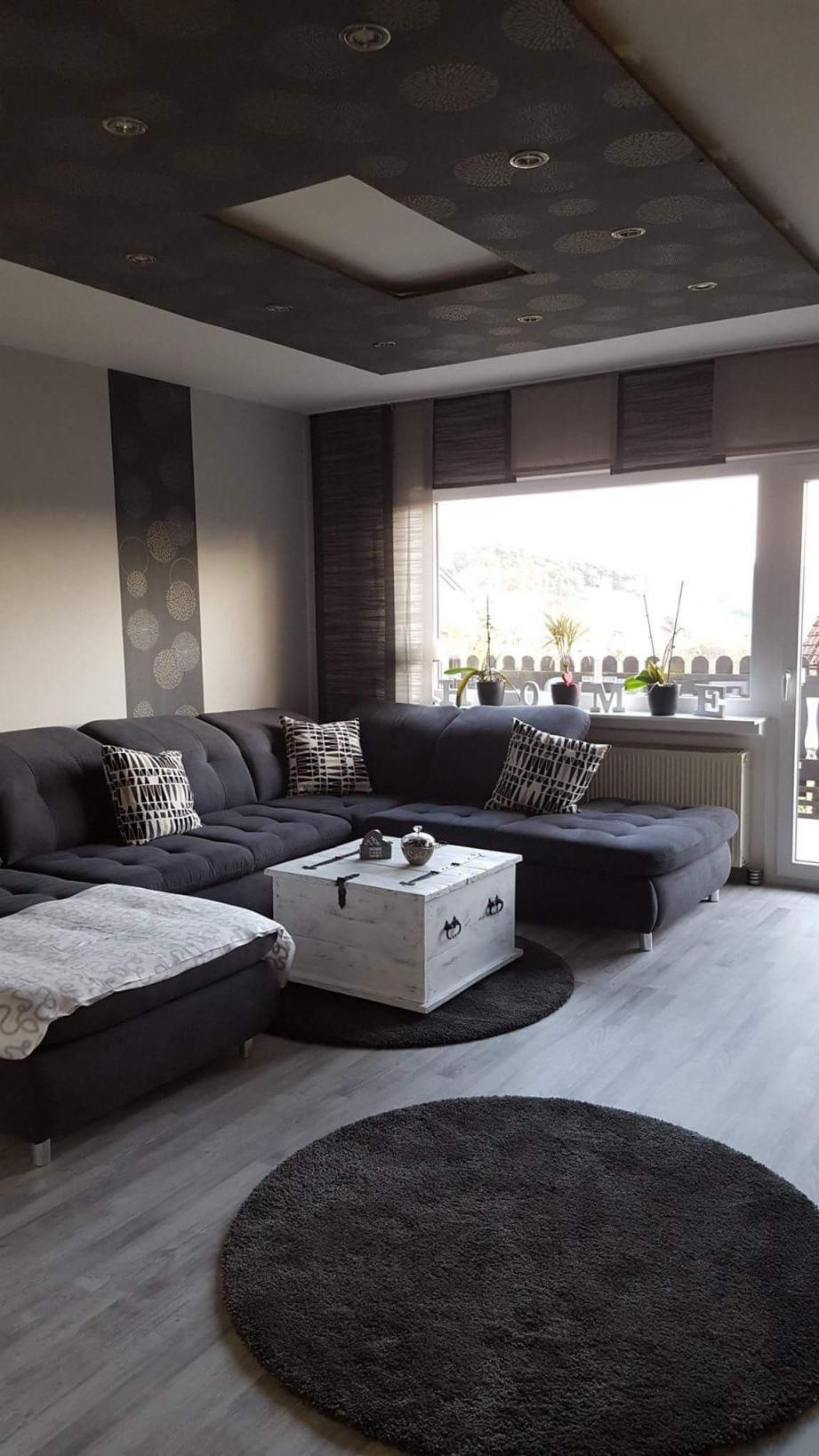 Verfuhrerisch Wohnzimmer In Grau Einrichten Beige Ideen von Graues Wohnzimmer Ideen Bild