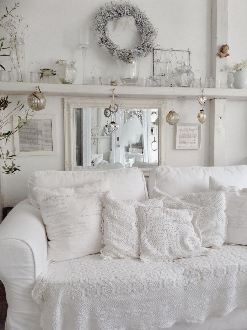 Vertraeumtes Stadthaus  Wohnen Kleine Wohnzimmer von Shabby Chic Wohnzimmer Ideen Photo