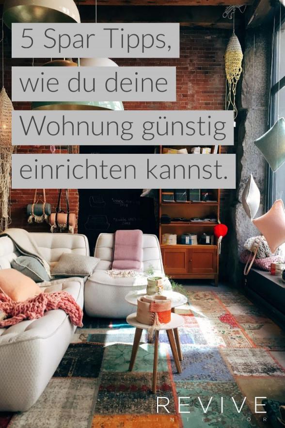 Verwandle Deine Wohnung  Wohnung Einrichten Wohnung von Wohnzimmer Günstig Einrichten Bild