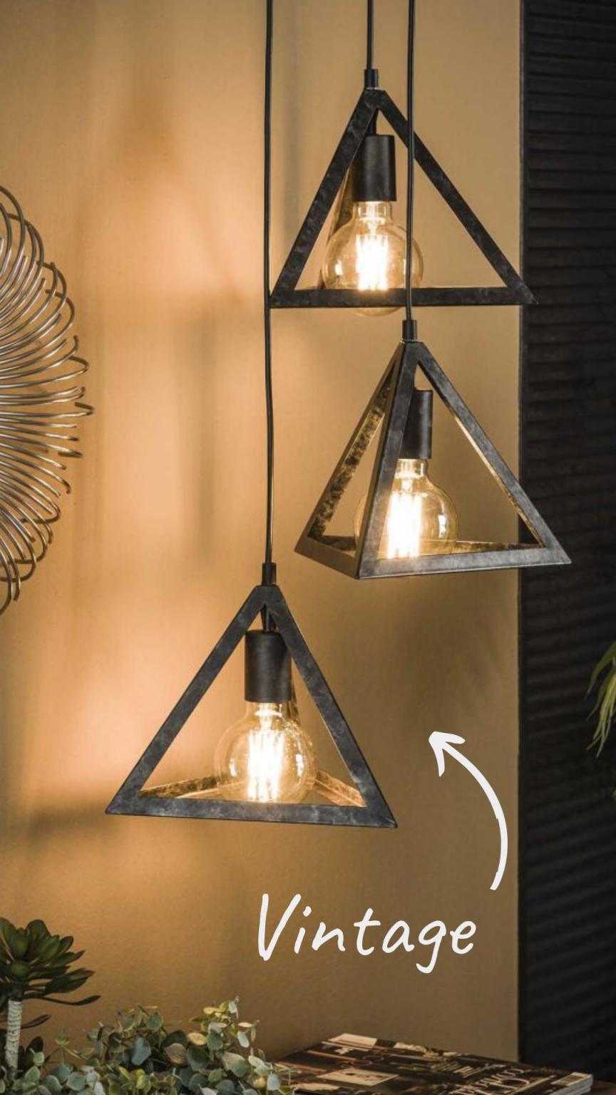 Vintage Lampen Und Retro Lampen  Beleuchtung Für Zuhause von Retro Wohnzimmer Lampe Bild