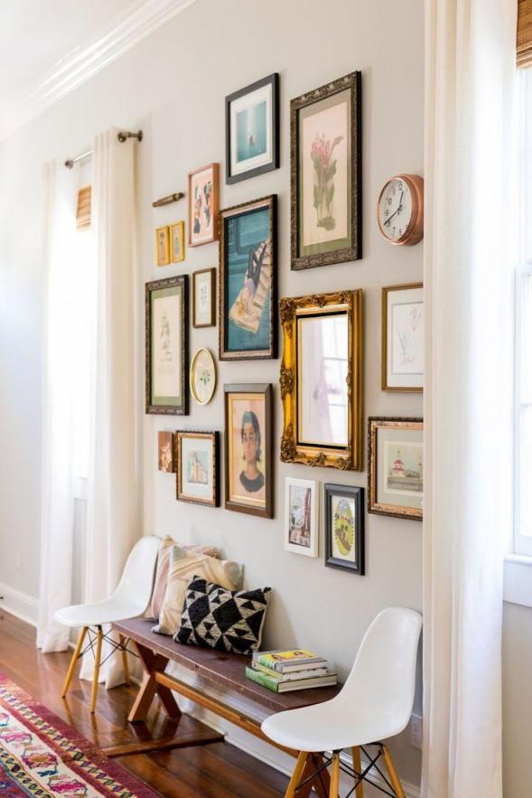 Vintage Wanddekorationen Für Wohnzimmer  Wohnzimmer Design von Wohnzimmer Deko Vintage Bild