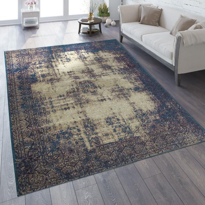 Vintageteppich Orientoptik  Teppich Orient Vintage von Wohnzimmer Teppich Vintage Bild